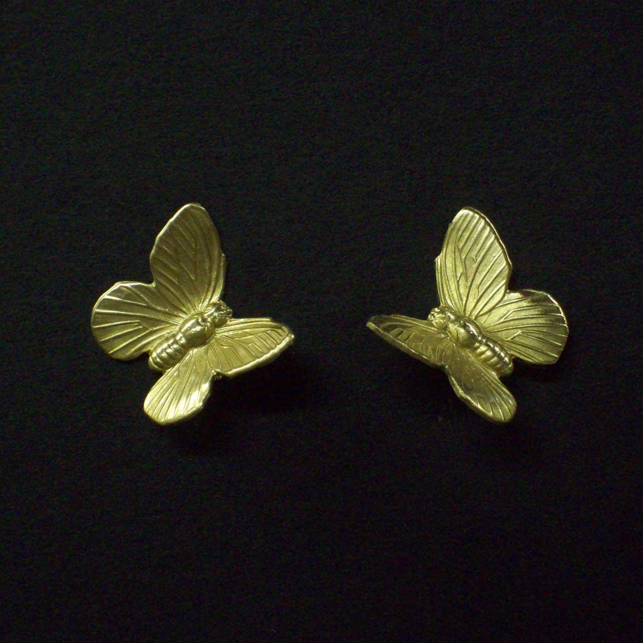 Small Post Butterfly Earrings