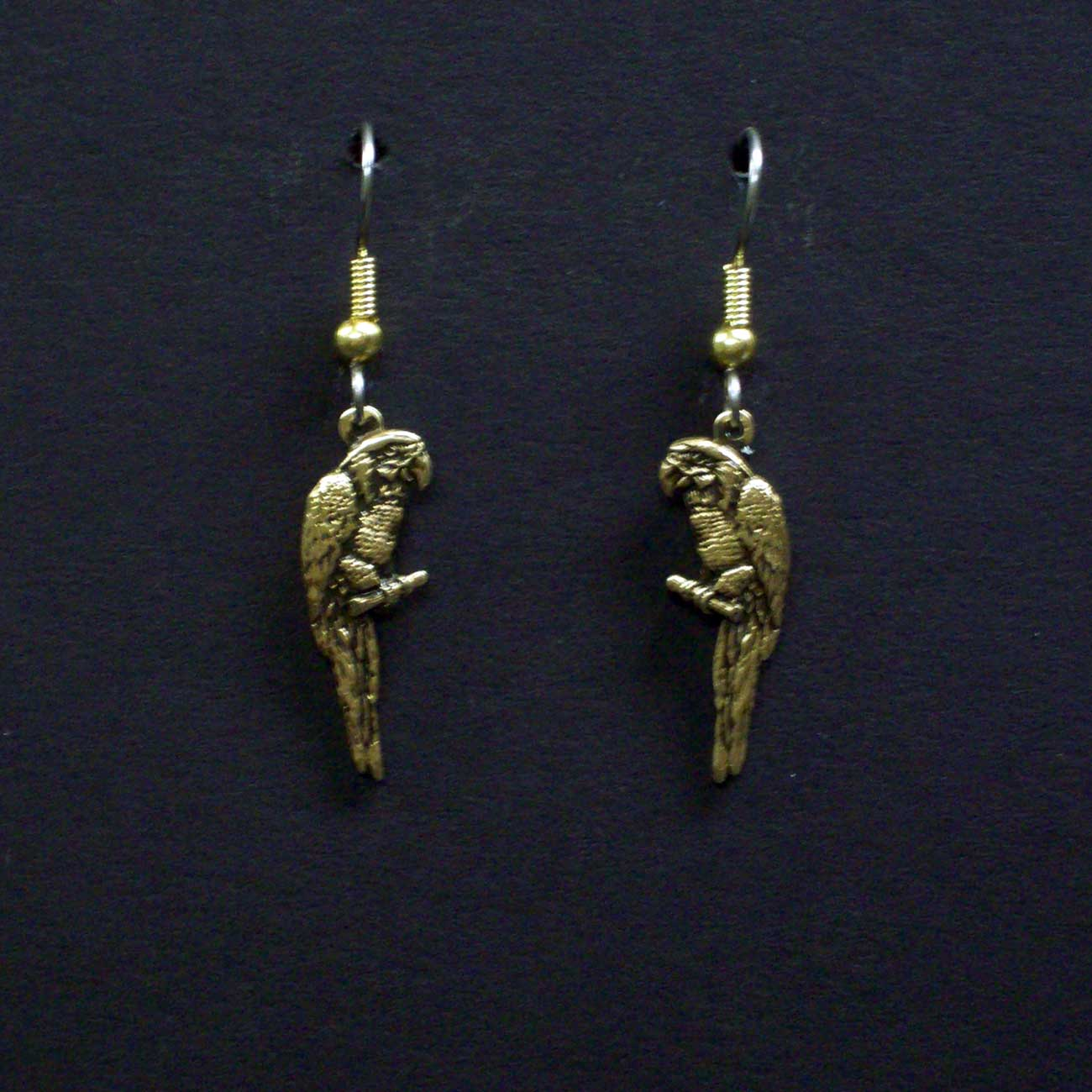 Small Parrots Dangle Earrings