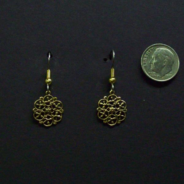 Small Celtic Filigree Earrings