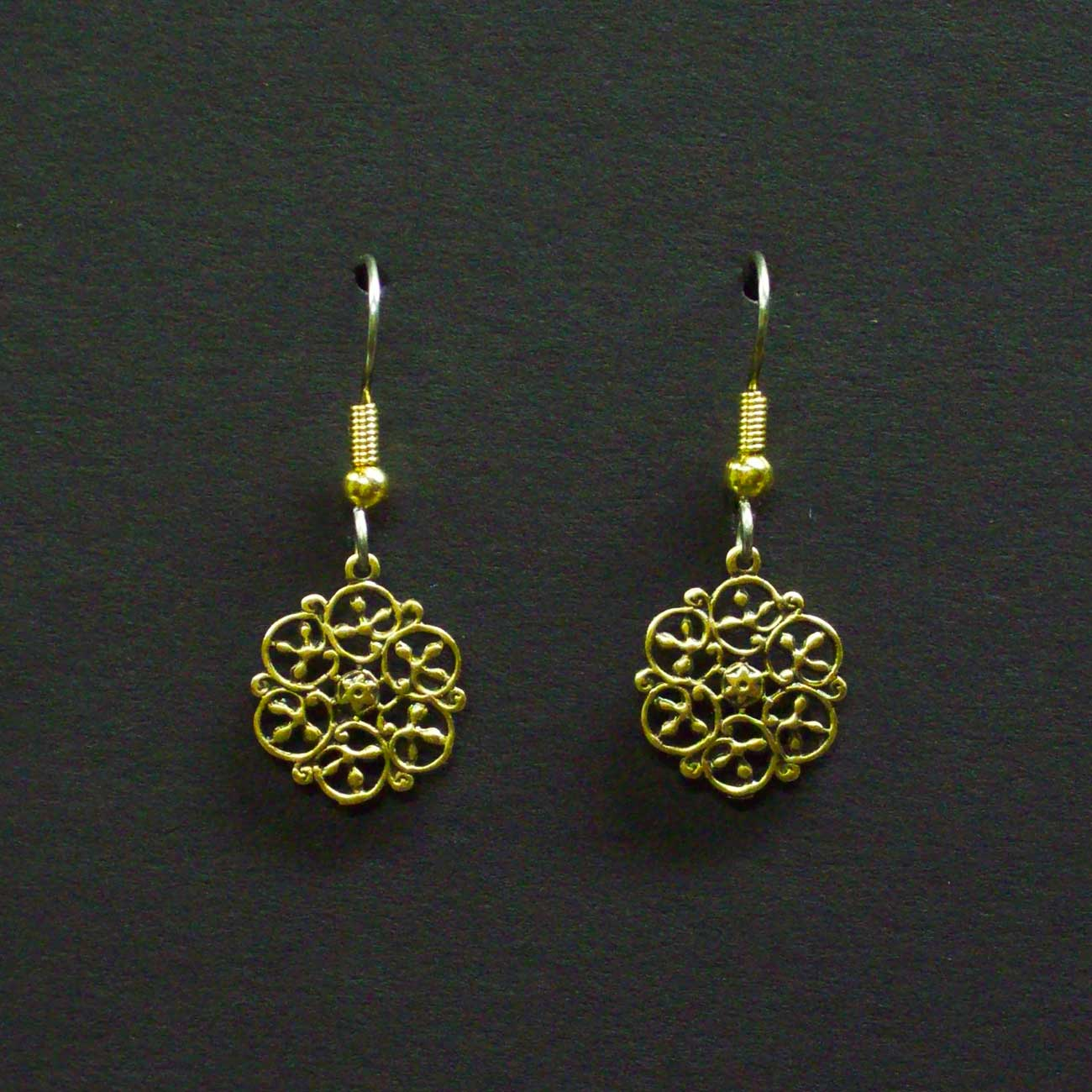 Small Celtic Filigree Earrings