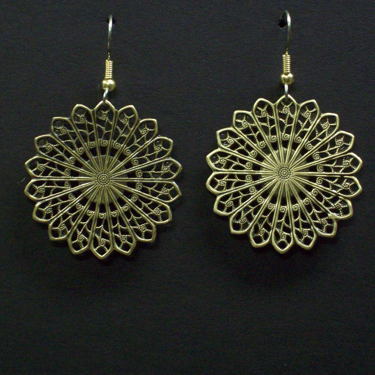 20 Point Filigree Earrings