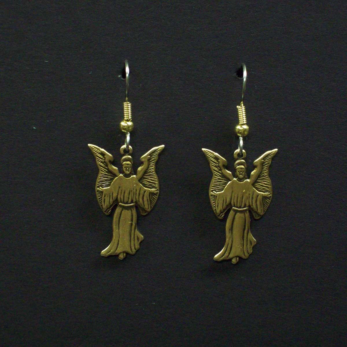 Large Angel Earrings
