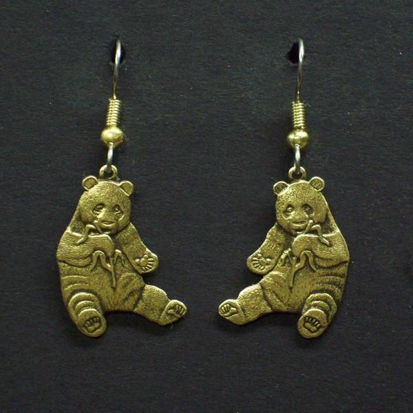 Panda Dangle Earrings