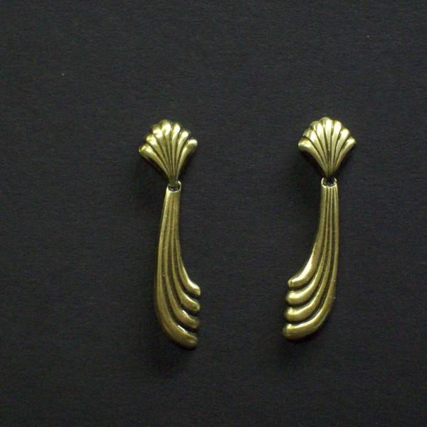 Swivel Drop Post Earrings