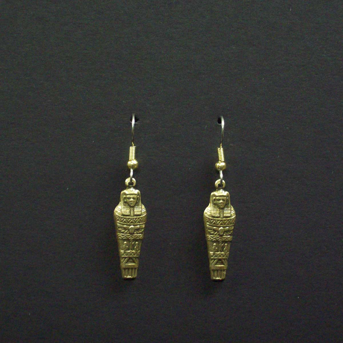 Mummy Dangle Earrings