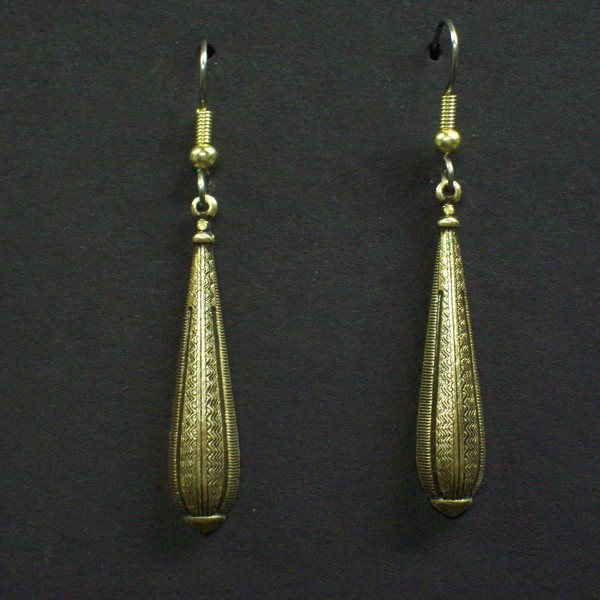 Victorian Decorated Drop Earrings